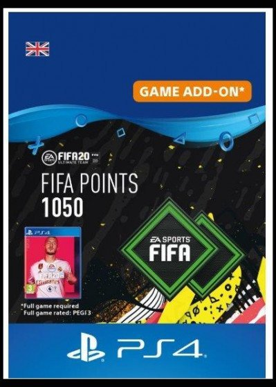 FIFA 20 ULTIMATE TEAM - 1050 POINTS UK