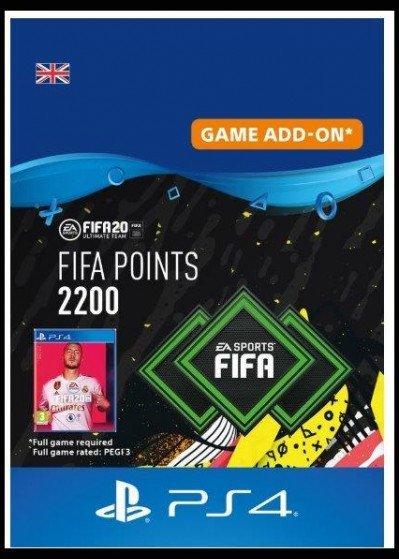 FIFA 20 ULTIMATE TEAM - 2200 POINTS UK