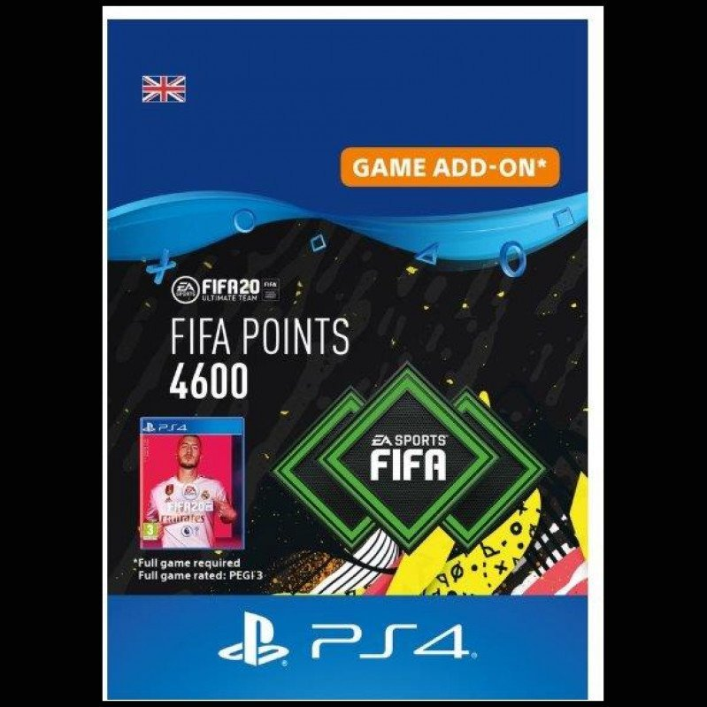 FIFA 20 ULTIMATE TEAM - 4600 POINTS UK