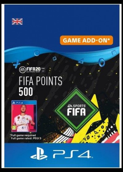 FIFA 20 ULTIMATE TEAM - 500 POINTS UK
