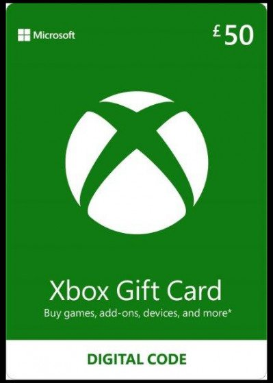 Microsoft Xbox Live Gift Card £50